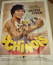 Cinema, French Language Poster, Le Chinois, 1980, Jackie Chan, large format