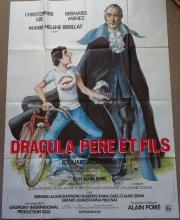 Cinema, French Language Poster, Dracula Pere et Fils, Dracula Father and So