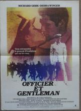 Cinema, French Language Poster, Officier et Gentleman, An Officer and a Gen