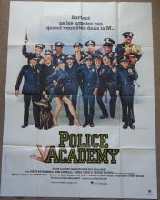 Cinema, French Language Poster, Police Academy, 1984, large format, one she