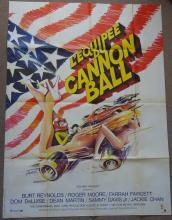 Cinema, French Language Poster, L'equipee Du Cannon Ball, Cannonball Run, 1