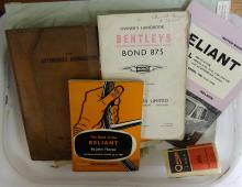 Motoring, AA Documents; Workshop Manuals; other ephemera