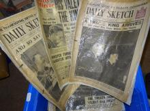 London Illustrated News and Royal newspapers, 1930s-, other ephemera