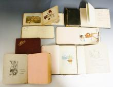 Autograph and commonplace books early to mid 20th century, World War One in