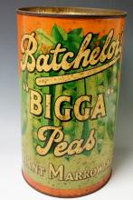 Advertising - a Batchelor's Bigga Peas Giant Marrowfats tin, 36cm high, 22c