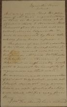 Maria EDGEWORTH, folded small format ALS, 2½ pages of closely written text,