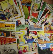 Comic, Bamforth, 1950s-60s, other publishers [*125]