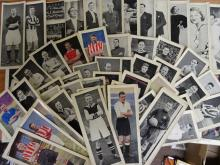 Topical Times, Footballers, Large Panel Portraits, black and white and colo