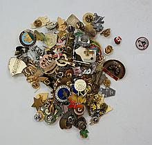 Enamelled badges, Great Britain, early to mid-20th century, including Butli