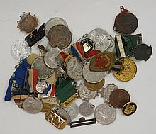 Medallions, Great Britain, mostly 20th century, in base metals, Royalty - C