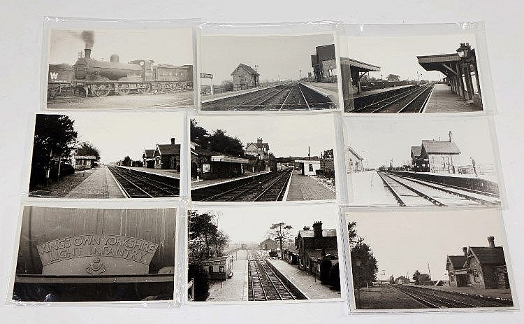 A large quantity of postcards and black white and colour p for C furniture coningsby