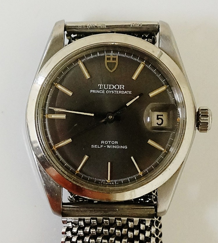 A Rolex Tudor Prince Oyster Date, rotor self winding gentleman's' stainless