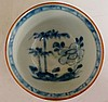 The Nanking Cargo - a blue and white tea bowl and saucer, painted in under