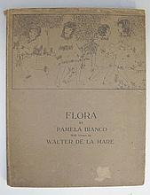 Flora by Pamela Bianco, with verses by Walter de la Mare, first edition, in