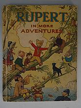 An original Rupert Bear annual for 1944, the 'belonging to' box inscribed '