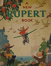 An original Rupert Bear annual for 1945, the 'belonging to' shield inscribe
