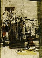 Betty Connal-Peebles (1935 - 1999) - abstract, etching, numbered 5/50 and s