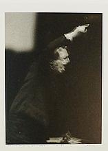 Harold Riley (b. 1934) - Sir John Barbirolli, last rehearsal in Manchester,