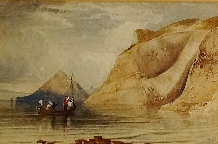 Anthony Vandyke Copley Fielding (1787 - 1855) - Giant's Causeway, Isle of S