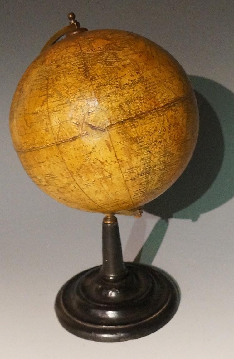 Geographia - a 6 inch terrestrial globe, Geographia Limited, 55 Fleet Stree