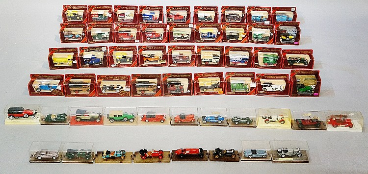 A large quantity of Matchbox models of Yesteryear; a quantity of Brumm, Sol