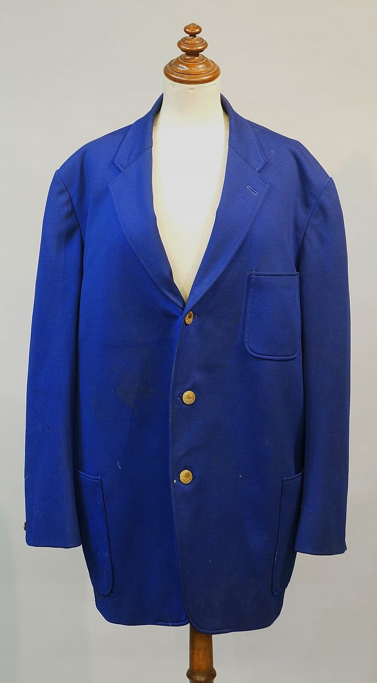 Olympic interest - a 1964 Tokyo Olympic blue fabric Official's jacket with