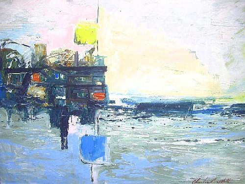 An impressive Charles Bartlett (born 1921) oil on