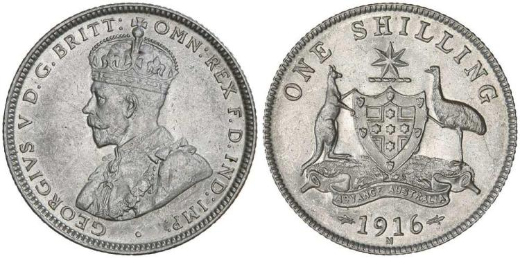 Aust. Commonwealth - Shillings