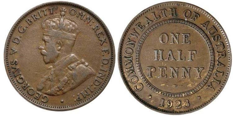 Aust. Commonwealth - Halfpennies