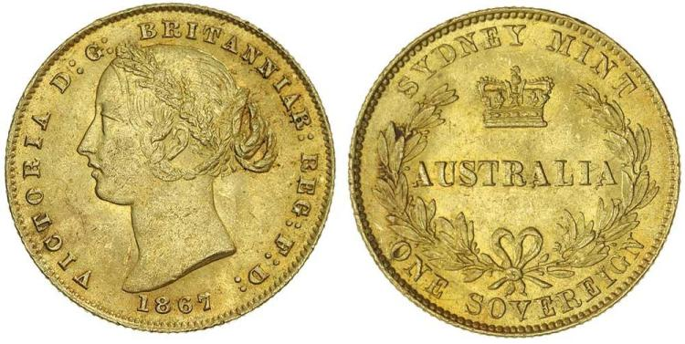 Aust. Gold - Sydney Mint Sovereigns