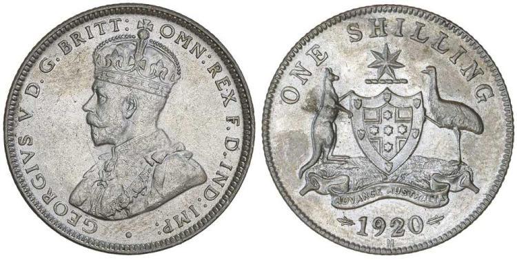 Aust. Commonwealth - Shillings