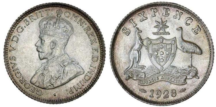 Aust. Commonwealth - Sixpences