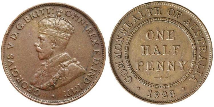 Aust. Commonwealth - Halfpennies