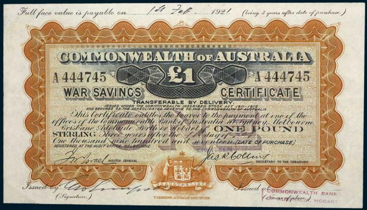 Aust. Banknotes - War Related Issues