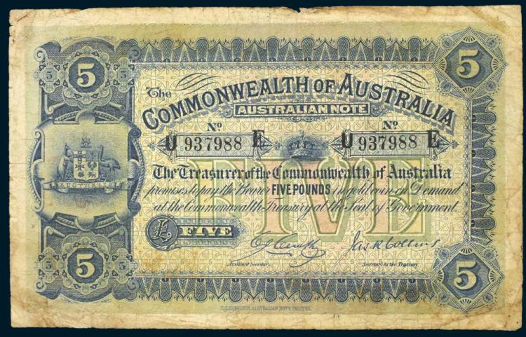 Aust. Banknotes - Error Notes