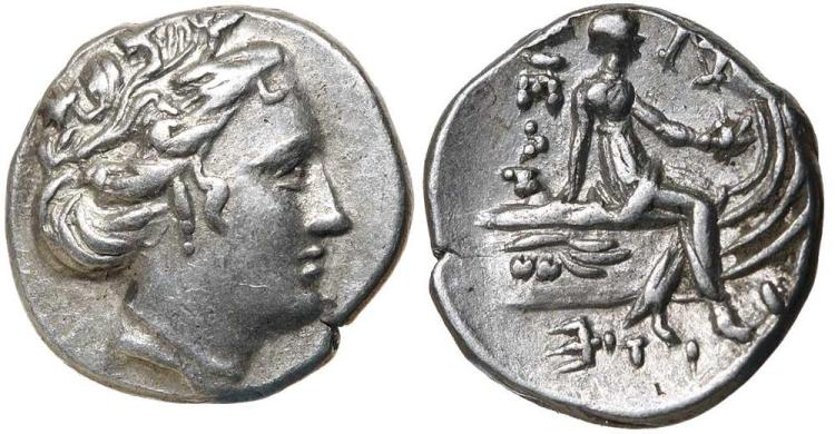 Greek Silver and Bronze Coins