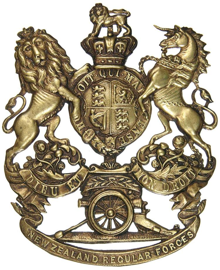 Militaria - New Zealand and World Badges