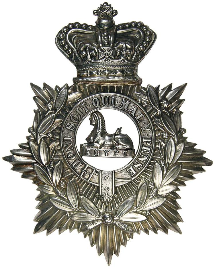 Militaria - Helmet Plates and Other Badges
