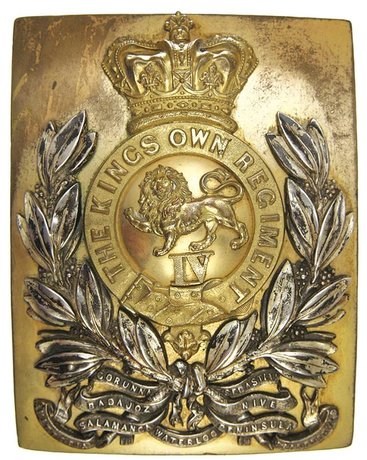 Militaria - Shoulder Belt Plates
