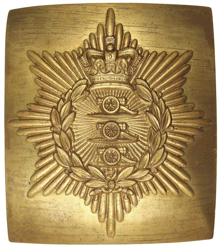 Militaria - Shoulder Belt Plates