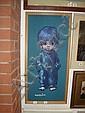 PAINTING ON BOARD SIGNED LEIGHTON JONES, Leighton Jones, Click for value