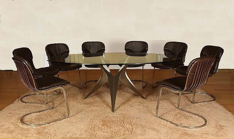 Paul le geard xxe mobilier de salle manger comprenant un for Mobilier salle a manger