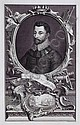 FOUR ENGRAVED PORTRAITS BY JACOBUS HOUBRAKEN (DUTCH 1698-1780): SIR FRANCIS DRAKE, SIR WALTER RALEIGH, SIR THOMAS SMYTH AND ROBERT DUDLEY, EARL OF, Jacobus Houbraken, Click for value