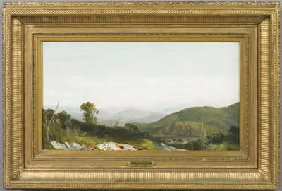 HARRISON BIRD BROWN (AMERICAN 1831-1915). THE PEMIGEWASSET WILDERNESS.