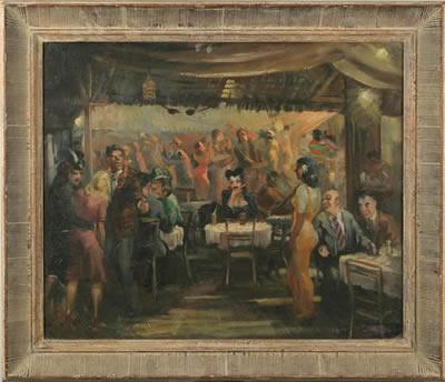 WILLIAM FRANKLIN DRAPER (AMERICAN 1912- 2003). CAFE SOCIETY.