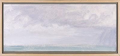 DARRAGH PARK (AMERICAN, B. 1939). THE COMING RAIN,