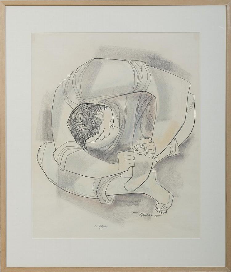 AUGUSTO MARIN (PUERTO RICAN 1921-2011). LA NIGUA.