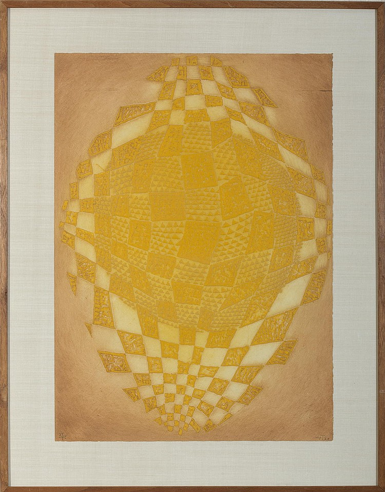 ARTHUR LUIS PIZA (BRAZILIAN, B. 1928). YELLOWS.