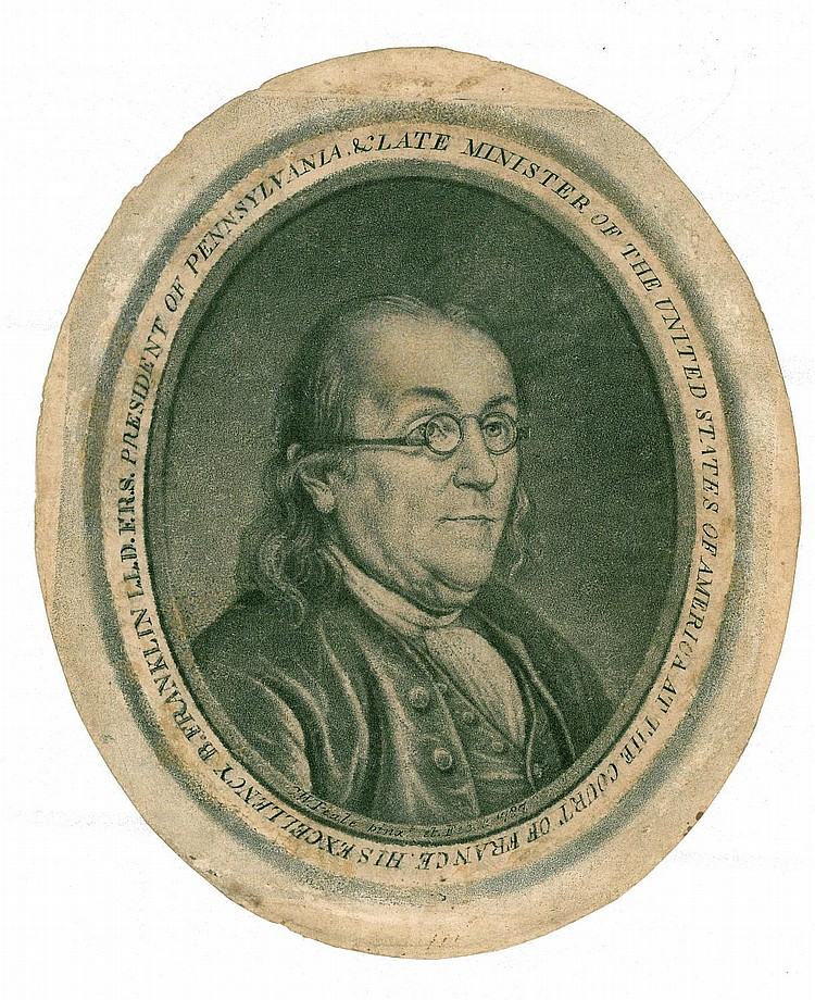 RARE ENGRAVED PORTRAIT