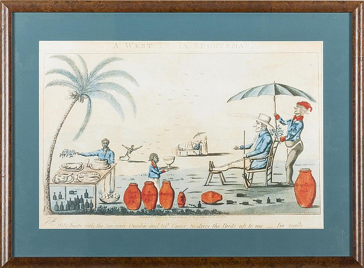 BRITISH WEST INDIES PRINT: